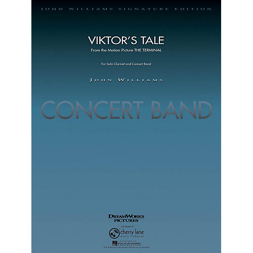 Cherry Lane Viktor's Tale (from The Terminal) Concert Band Level 5-6 Arranged by Paul Lavender