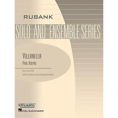 Rubank Publications Villanella (Flute Solo with Piano - Grade 3) Rubank Solo/Ensemble Sheet Series