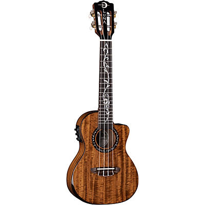 Luna Guitars Vineyard Koa Concert Acoustic-Electric Ukulele