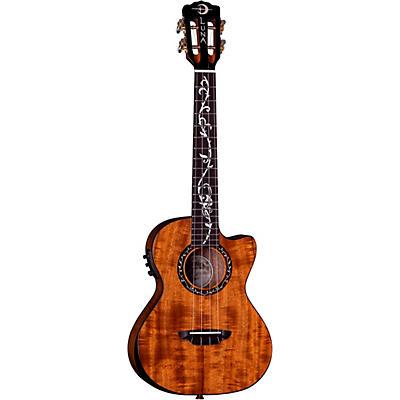 Luna Guitars Vineyard Koa Tenor Acoustic-Electric Ukulele