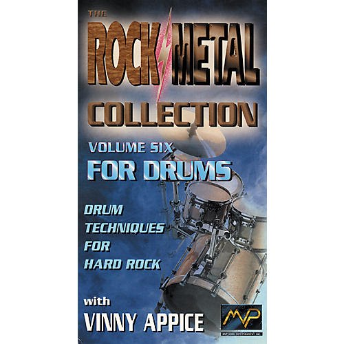 MVP Vinnie Appice - Rock and Metal Collection for Drums Video Volume 6