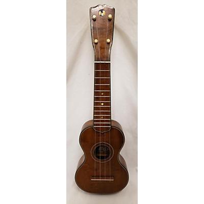 Vintage 1920s Sammo Soprano Maple Ukulele