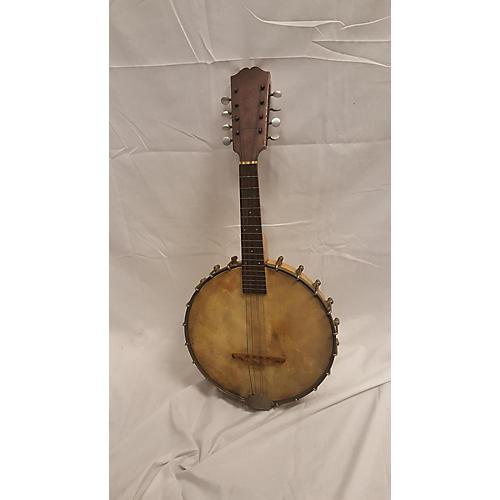 Vintage 1920s Weymann Brothers Banjo Mandolin Natural Banjo Natural