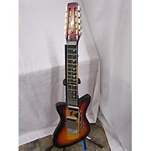 Vintage 1970s Smith Guitars Melobar Steel Sunburst Solid Body Electric Guitar