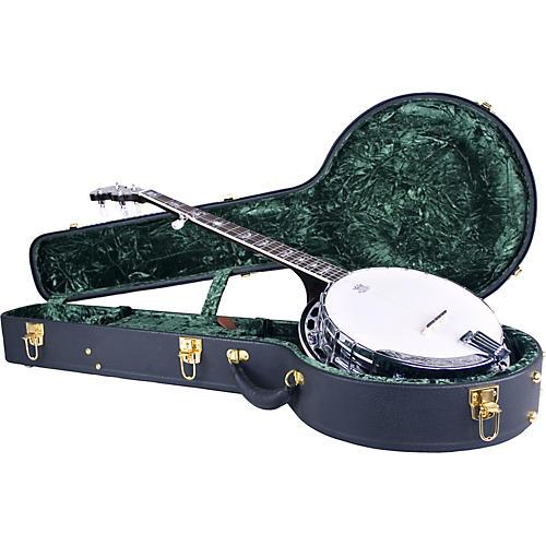 Silver Creek Vintage Archtop Case for Banjo Condition 1 - Mint Black