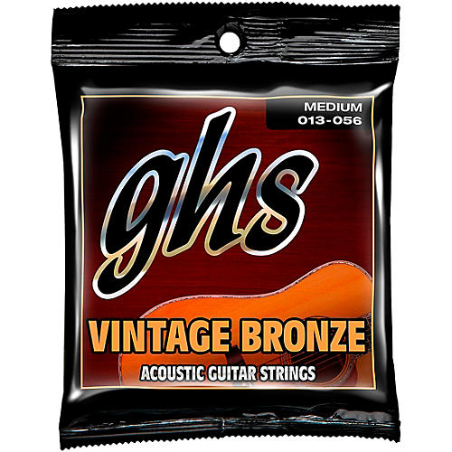 GHS Vintage Bronze 85/15 Acoustic Strings Medium