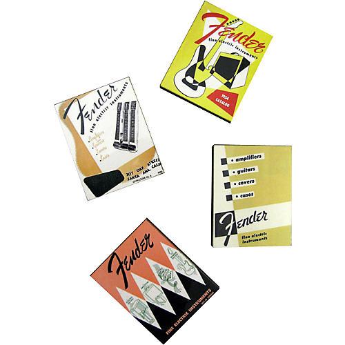 Fender Vintage Catalog Magnet Set of 4