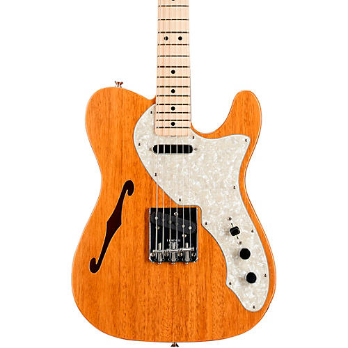 Fender Custom Shop Vintage Custom 1968 Telecaster Thinline Electric Guitar Aged Natural