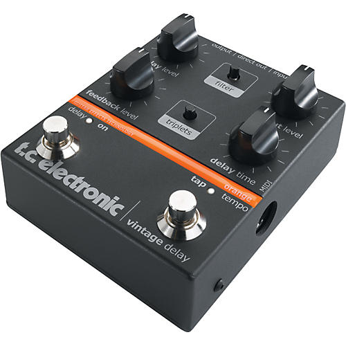 tc electronic vintage delay guitar effect pedal musician 39 s friend. Black Bedroom Furniture Sets. Home Design Ideas