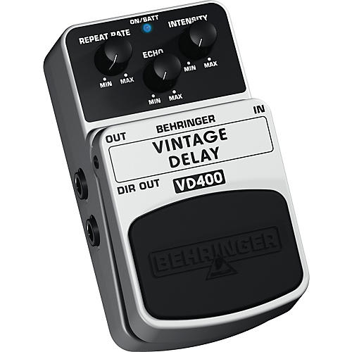 Behringer Vintage Delay VD400 Analog Delay Effects Pedal