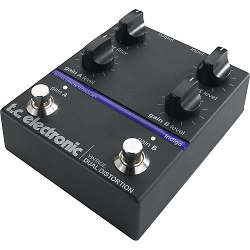 TC Electronic Vintage Dual Distortion Guitar Effect Pedal