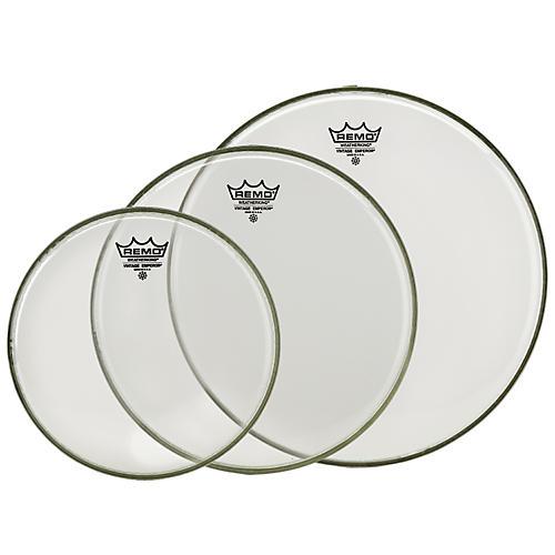 Remo Vintage Emperor Tom Drumhead Pack (Clear)