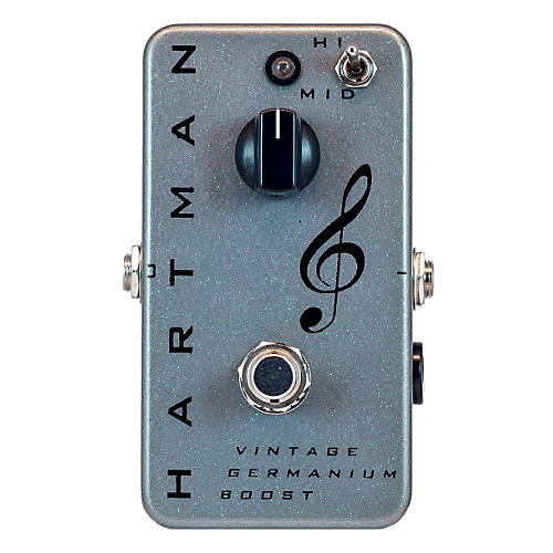 Hartman Electronics Vintage Germanium Boost Guitar Effects Pedal