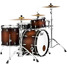 Vintage Hybrid Wood Fiberglass Series 3-Piece Shell Pack with 22 in. Bass Drum Satin Cocoa Burst