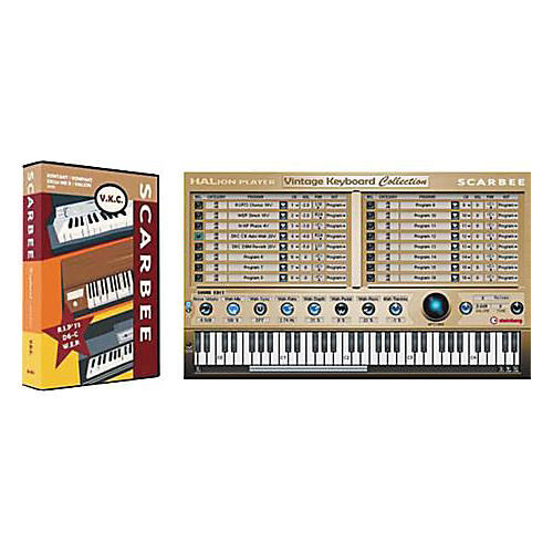 Scarbee Vintage Keyboard Collection (DVD + CD)