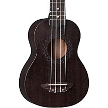 Vintage Mahogany Soprano Ukulele Satin Black