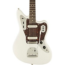 Vintage Modified Jaguar Electric Guitar Olympic White