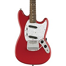 Vintage Modified Mustang Electric Guitar Fiesta Red