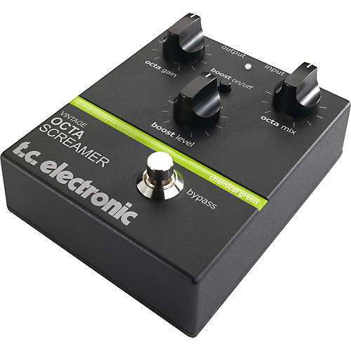 TC Electronic Vintage Octa Screamer Octave Guitar Effects Pedal