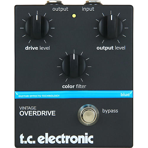TC Electronic Vintage Overdrive Guitar Effect Pedal