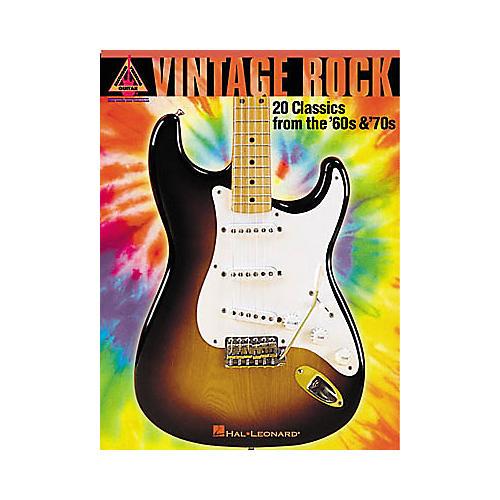 Hal Leonard Vintage Rock Guitar Tab Songbook