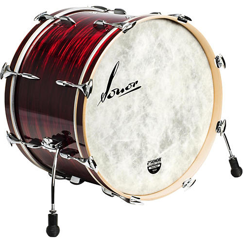 SONOR Vintage Series Bass Drum 20 x 14 in. Vintage Red Oyster