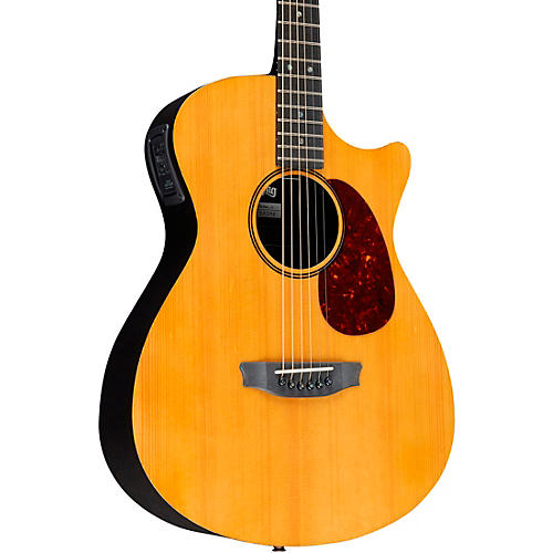 Rainsong Vintage Series OM Acoustic-Electric Guitar Vintage Tint