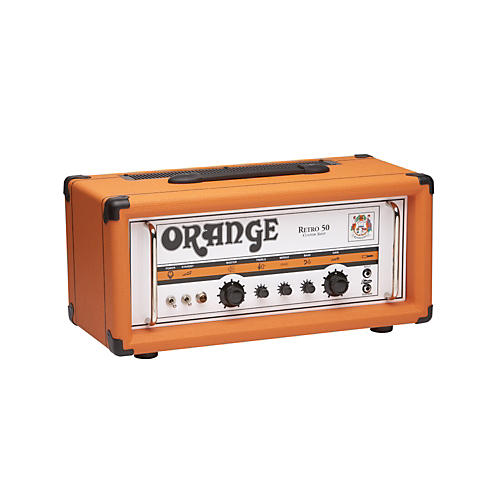 Orange Amplifiers Vintage Series Retro 50 50W Tube Guitar Amp Head