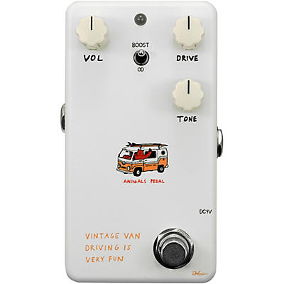 Animals Pedal Vintage Van Driving Is Very Fun Overdrive V2 Effects Pedal