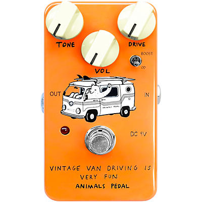 Animals Pedal Vintage Van Overdrive Effects Pedal