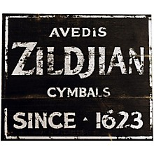 Zildjian Vintage Zildjian Factory Sign 15x12.5