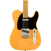 Vintera '50s Telecaster Modified Maple Fingerboard Electric Guitar Butterscotch Blonde