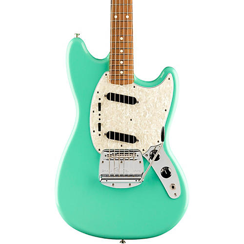 fender vintera 39 60s mustang electric guitar sea foam green musician 39 s friend. Black Bedroom Furniture Sets. Home Design Ideas