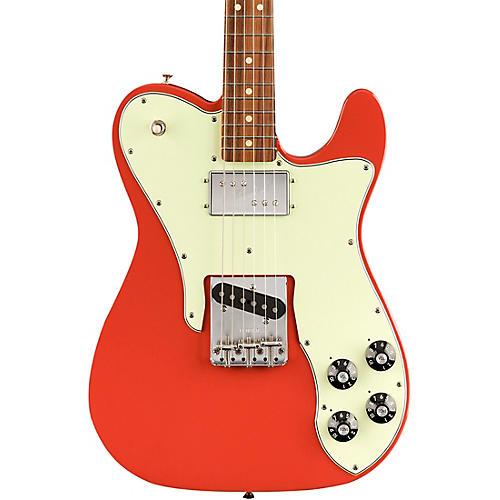 Fender Vintera '70s Telecaster Custom Pau Ferro Fingerboard Electric Guitar Fiesta Red