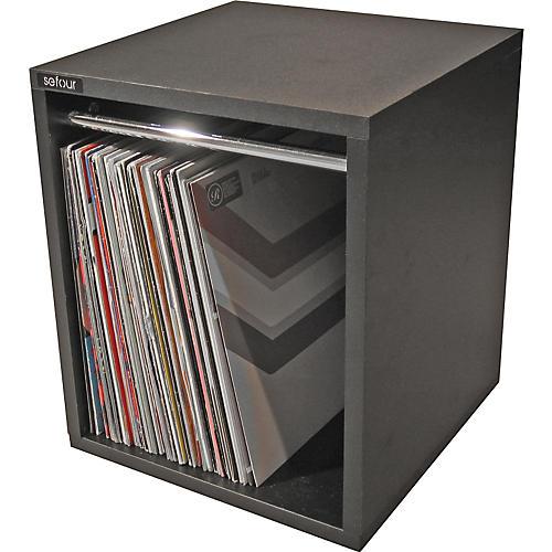 Sefour Vinyl Record Carry Box Black