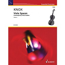Schott Viola Spaces (Contemporary Viola Studies, Volume 1) String Series Softcover