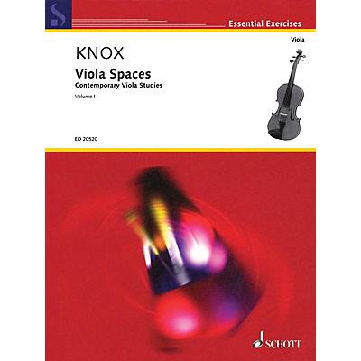 Schott Viola Spaces (Contemporary Viola Studies, Volume 1) String Series Softcover