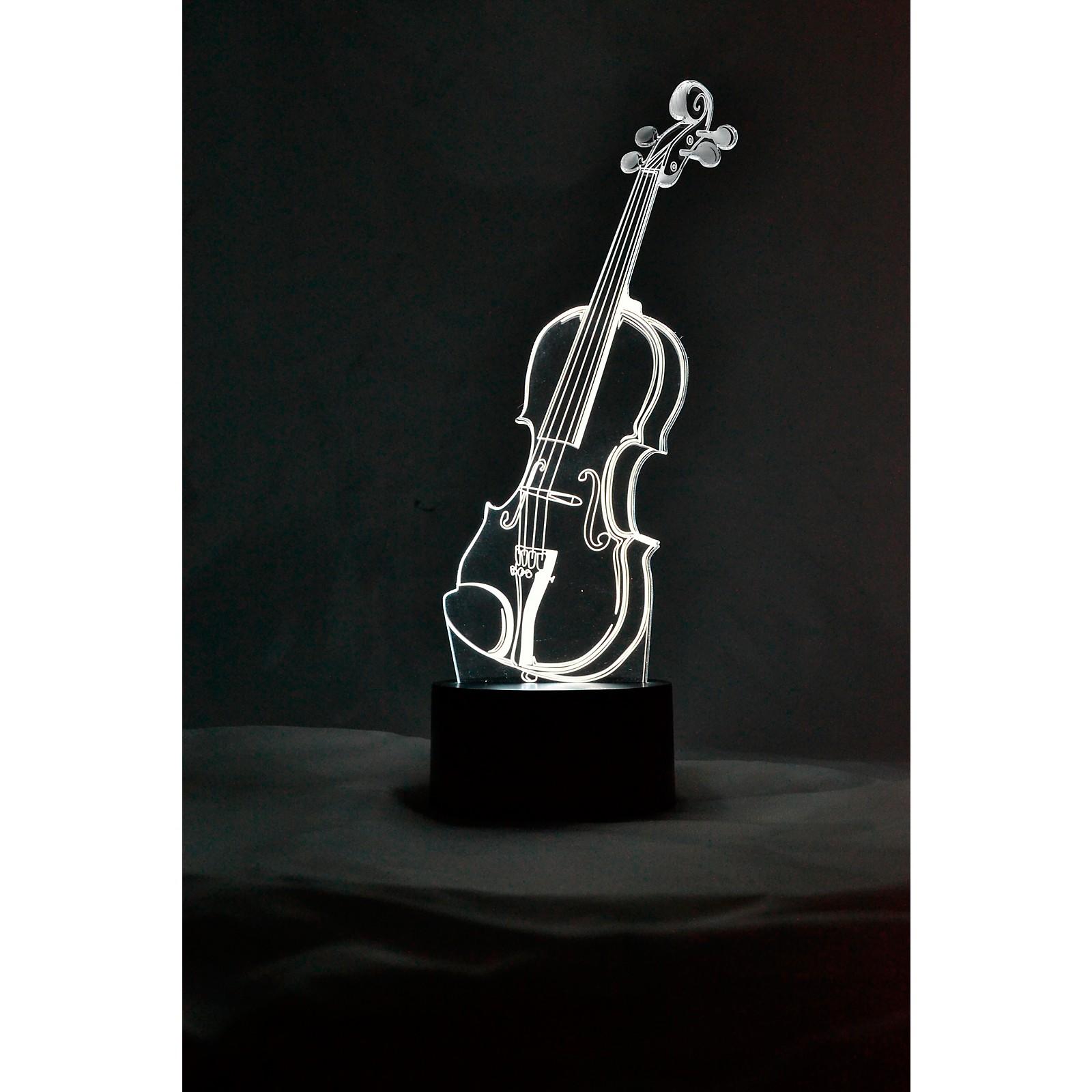 AIM Violin 3D LED Lamp Optical Illusion Light