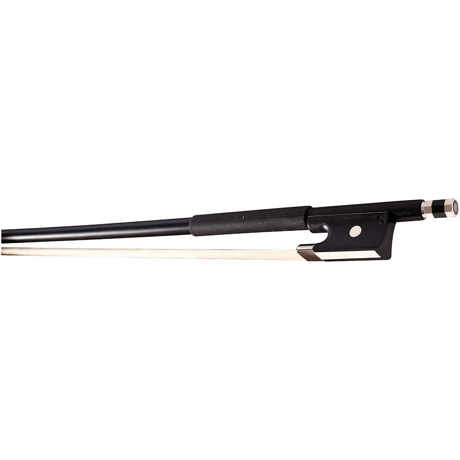 Glasser Violin Bow Fiberglass Half-Lined Frog Leatherette Grip