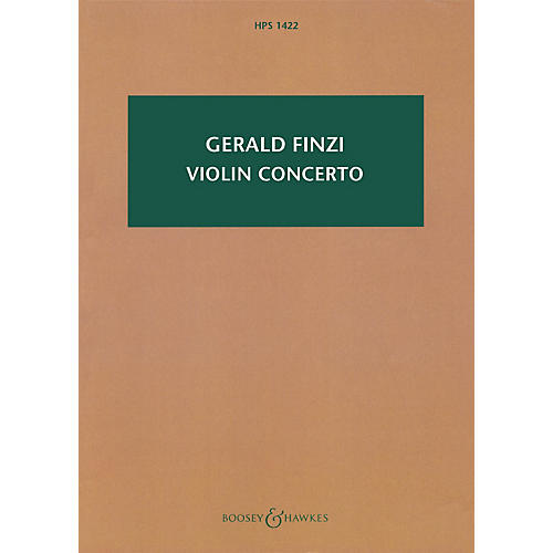 Boosey and Hawkes Violin Concerto (Revised 2009) Boosey & Hawkes Scores/Books Series Softcover Composed by Gerald Finzi