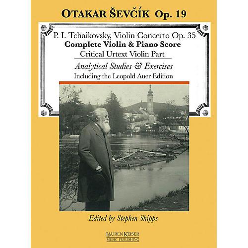 Lauren Keiser Music Publishing Violin Concerto in D Major, Op. 35 LKM Music Series