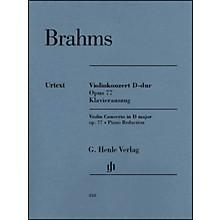 G. Henle Verlag Violin Concerto in D Major, Op. 77 By Brahms