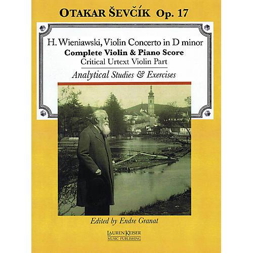 Lauren Keiser Music Publishing Violin Concerto in D minor, Op. 17 LKM Music Series Written by Otakar Sevcik