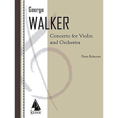 Lauren Keiser Music Publishing Violin Concerto (with Piano Reduction) LKM Music Series
