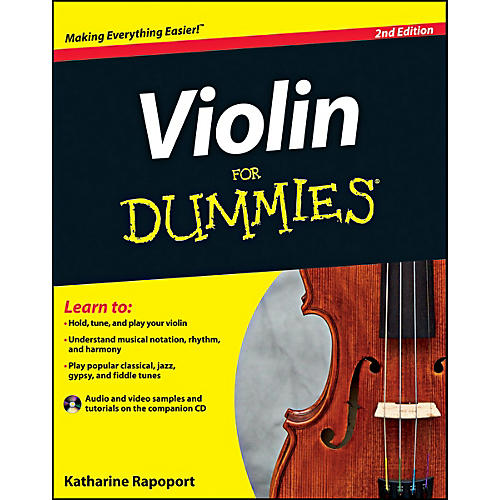 Mel Bay Violin For Dummies  Book/CD Set