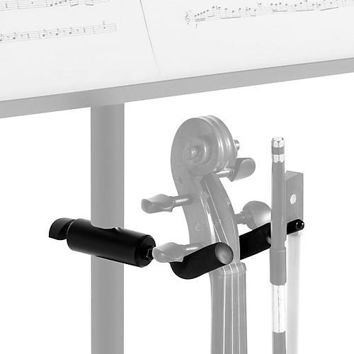 On-Stage Violin Hanger for Music Stands Black