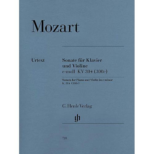 G. Henle Verlag Violin Sonata in E Minor K304 (300c) Henle Music Folios Series Softcover