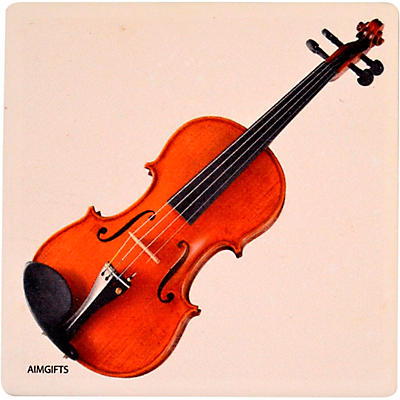 AIM Violin Stone Coaster
