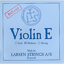 Violin Strings E, Steel Loop, Medium 4/4 Size