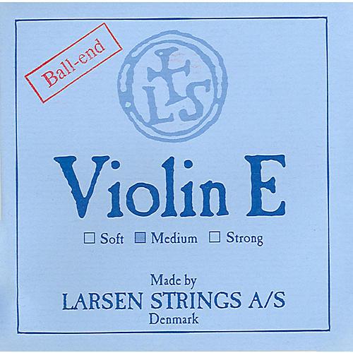 Larsen Strings Violin Strings Set, Steel Ball End E, Aluminum D 4/4 Size